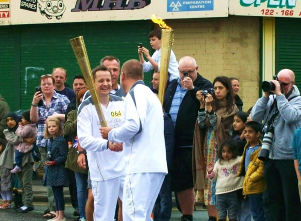 Torch relay, Oldham