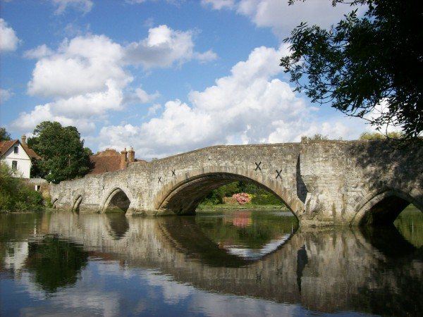 The bridge at Aylesford