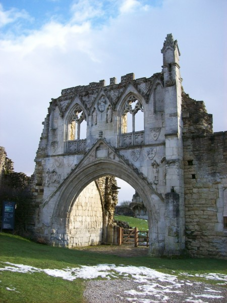 Kirkham Priory- the gatehouse