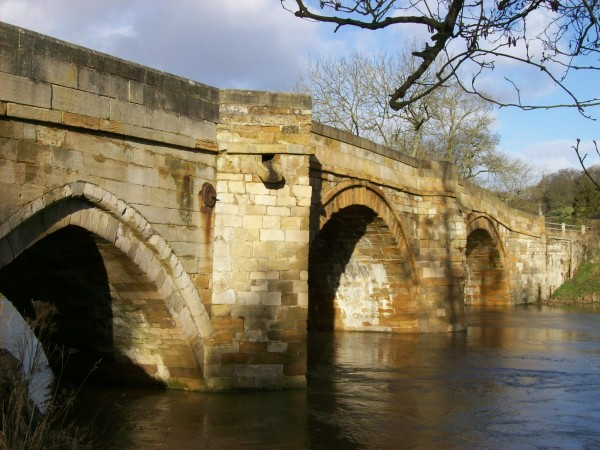 Bridge over the River Derwent at Kirkham
