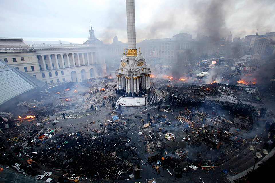 Откровения киевлянки:  Спаси вас Бог от майдана!