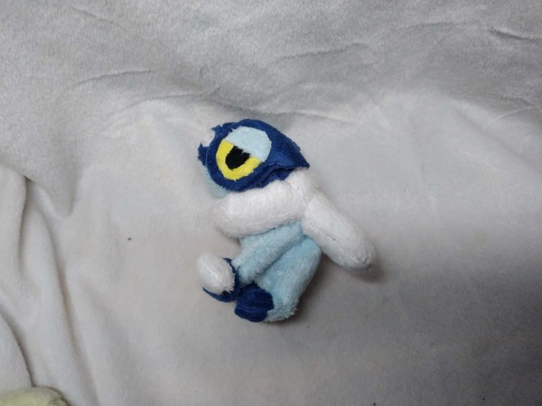 Frogadier Custom minky  (about 3 inches) $8 (2)