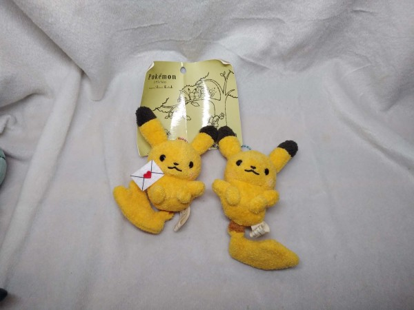 Pikachu Little tales pair (bent and creased tag) $18