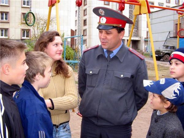 Ребенок попал в полицию