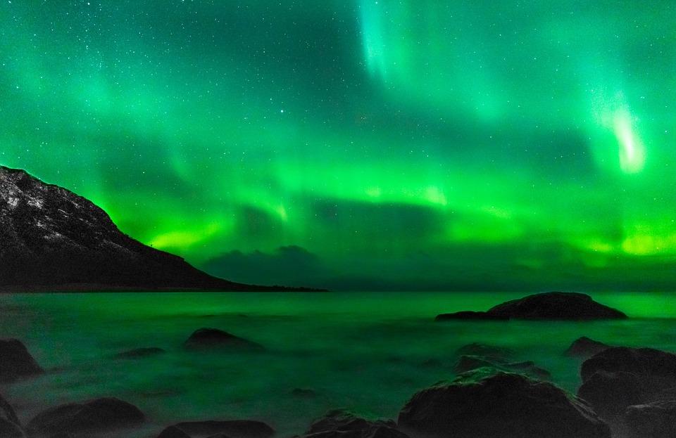 Фото Martin Solhaug Standal. Северное сияние