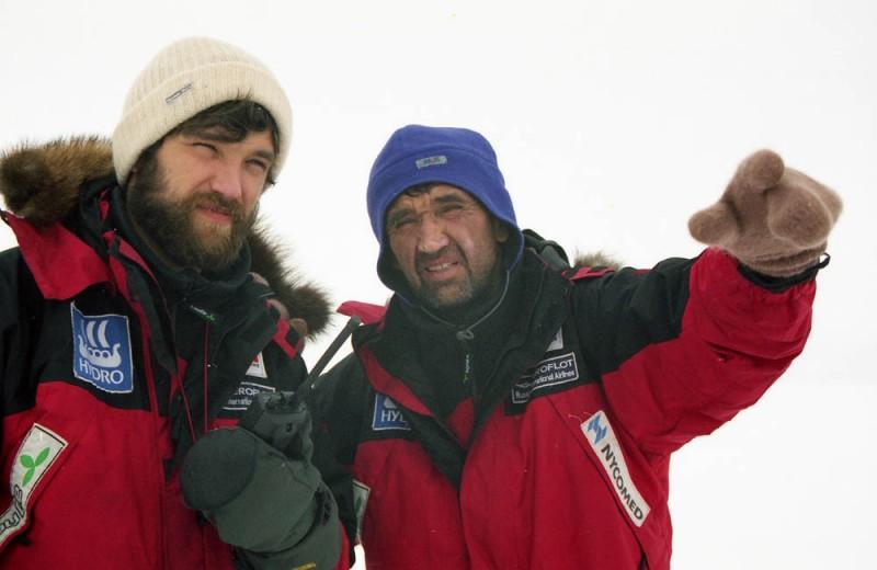 Дмитрий и Матвей Шпаро. Берингов пролив