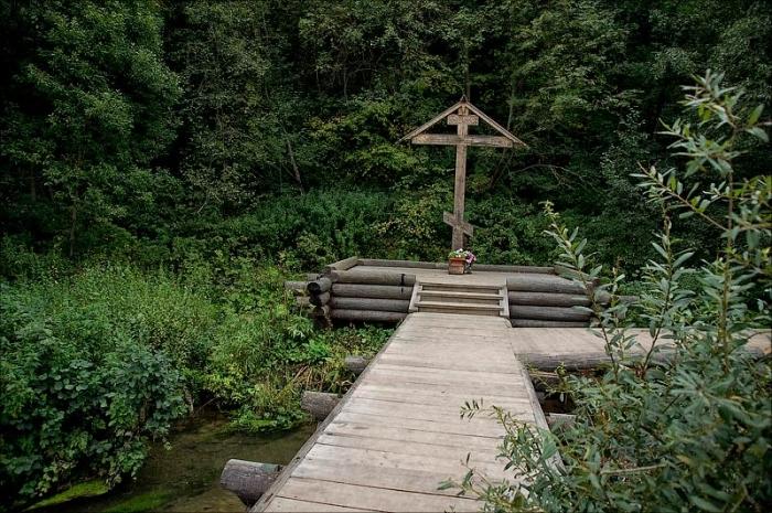 крест у Сергия Радонежского_гремячий водопад