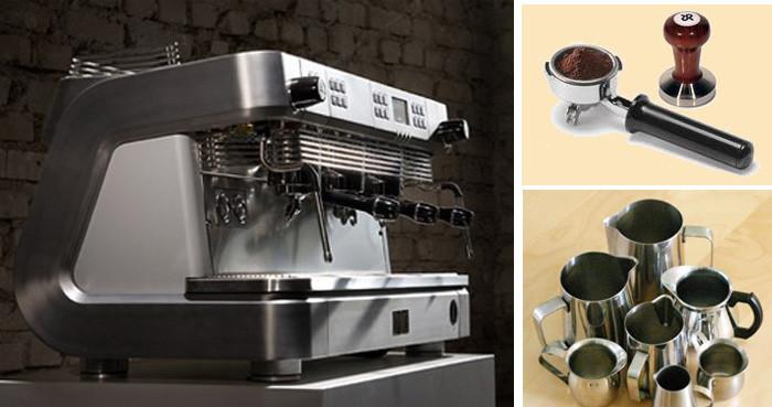 История кофе холдер и темпер