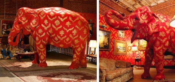Бэнкси слон