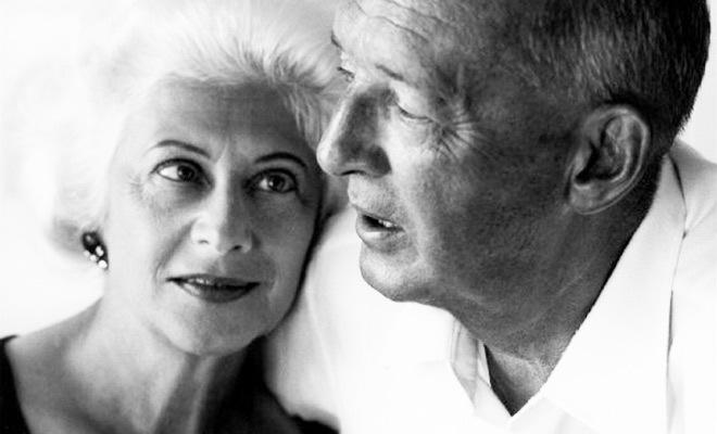 Набоков с женой