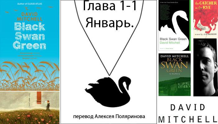 1 Дэвид Митчелл Блэк Свон грин перевод на русский глава 1