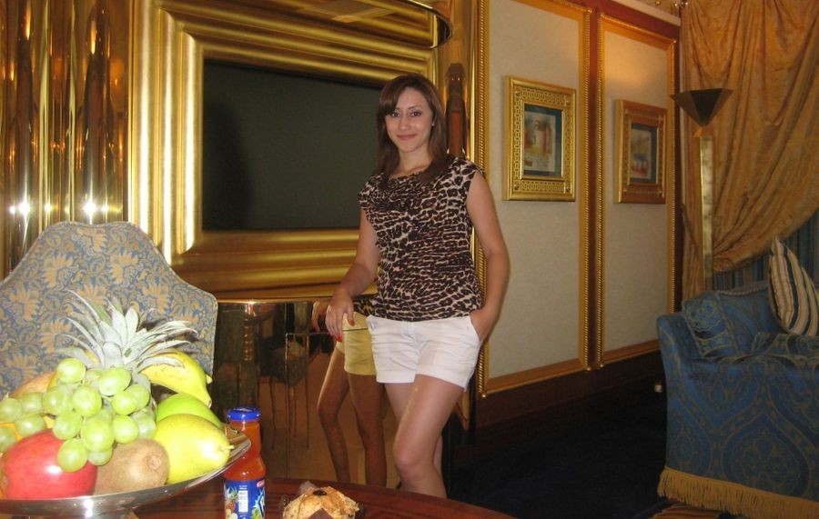 Наши девушки в Burj Al Arab