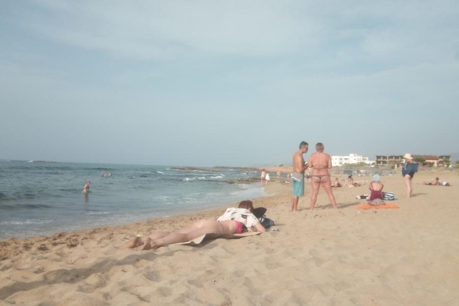 Беспредел на греческих пляжах
