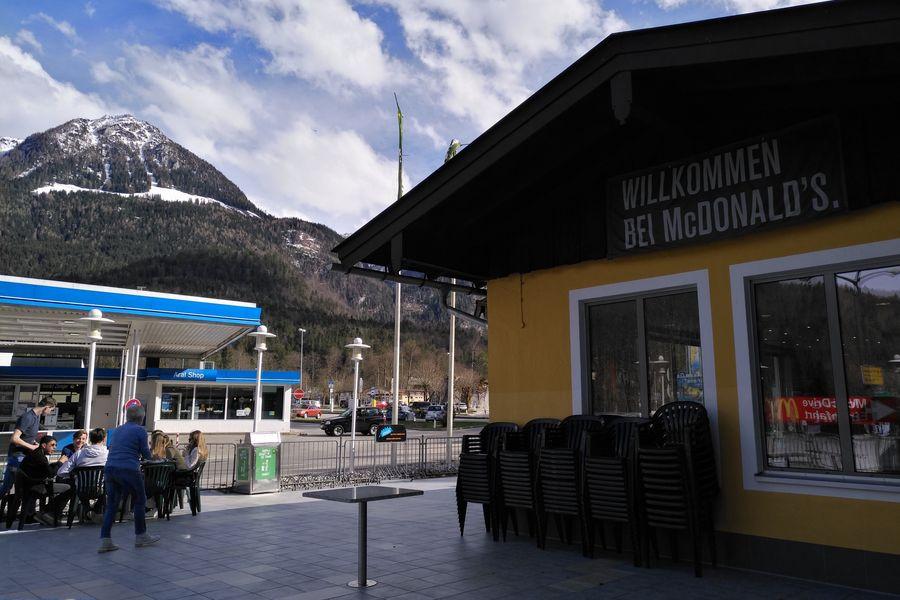 П**ц в Альпах