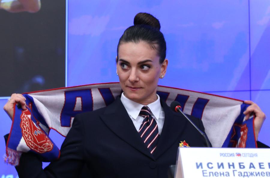 Елена Исинбаева: позор или гордость России?