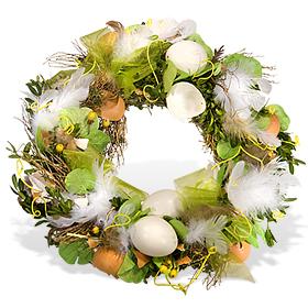 венок с пасхальными яйцами 3