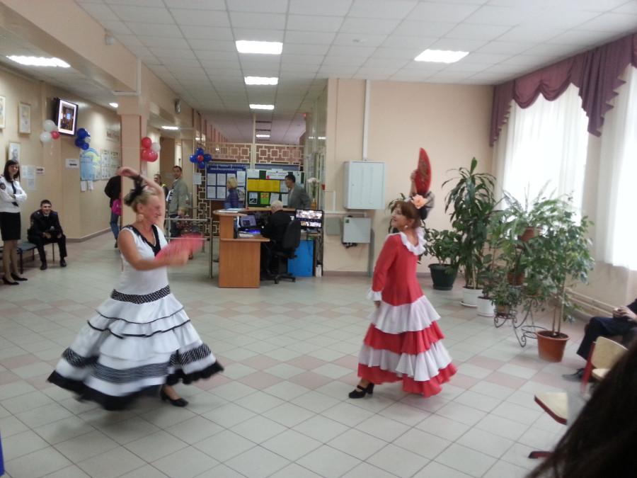 Танцы на УИК