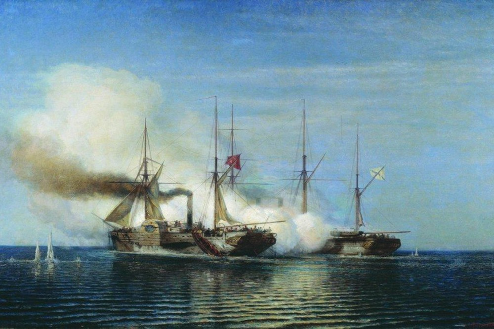 bogolyubov_alexey_263_battleship_capture_of_the_frigate_vladimir_turkish_steamer_pervaz_bahri_1858