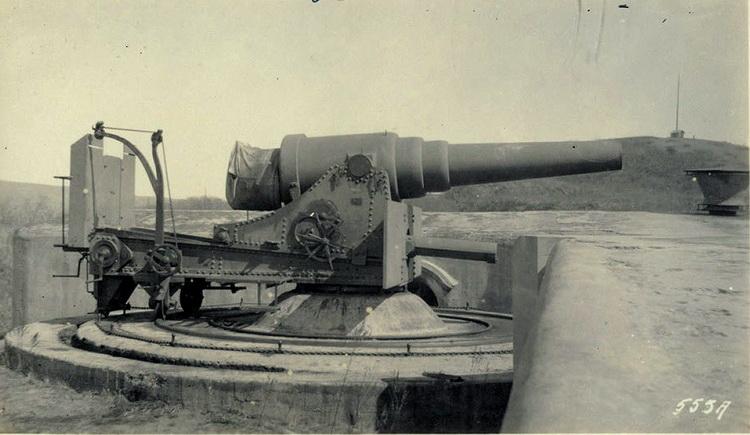 """11"""" дюймовое орудие. Владивосток"""