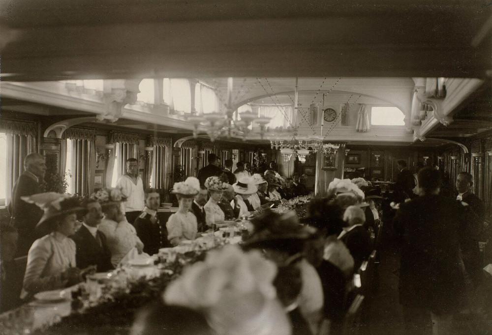 "Салон императорской яхты ""Штандарт"". 1912 год"