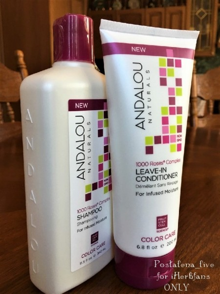 Andalou Naturals, 1000 Roses Complex, Color Care, Leave-In Conditioner , 6.8 fl