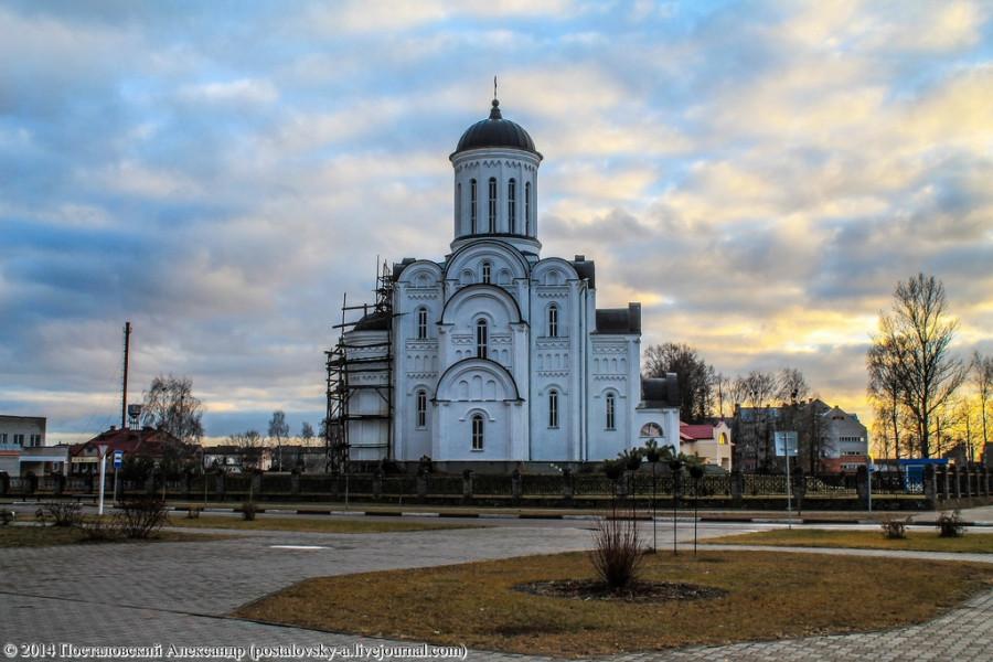 церковь в дрибине