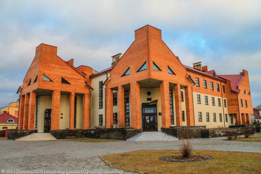 Здание дрибинского суда и прокуратуры