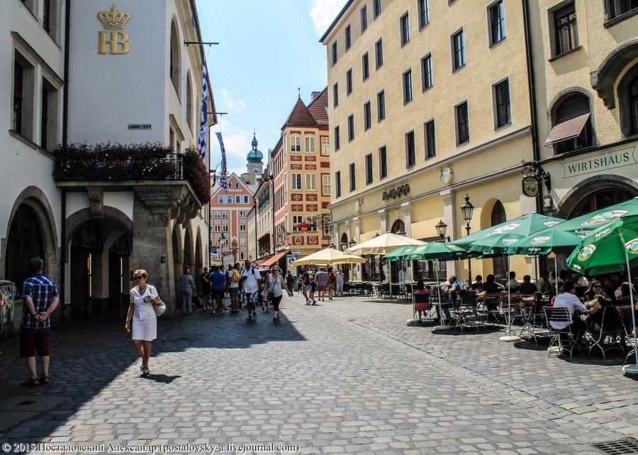 Уютный, милый Мюнхен
