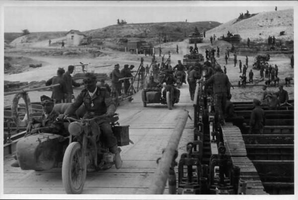 Переправа немецкой 3-й моторизованной дивизии через Дон