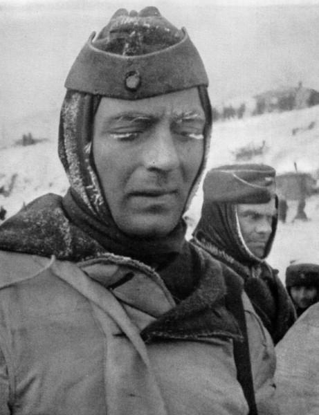 Пленный немецкий солдат в Сталинграде
