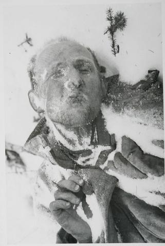 Замершие трупы Советских Солдат