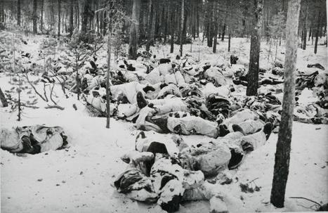 Погибшие финские солдаты