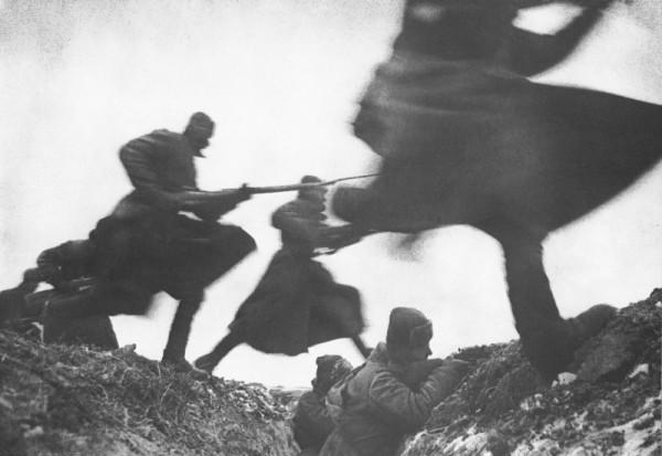 штыковая атака 1941 Дмитрий Бальтерманц