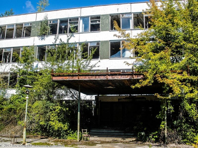Школы в городе Припять
