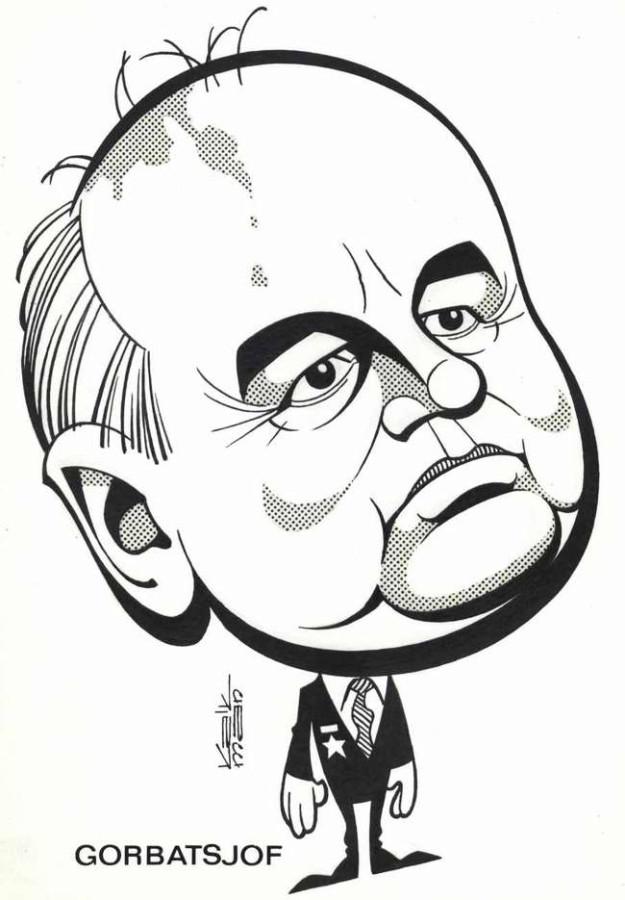 Картинки по запросу Карикатура Горбачёв