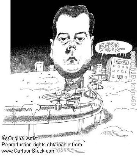 руль карикатура