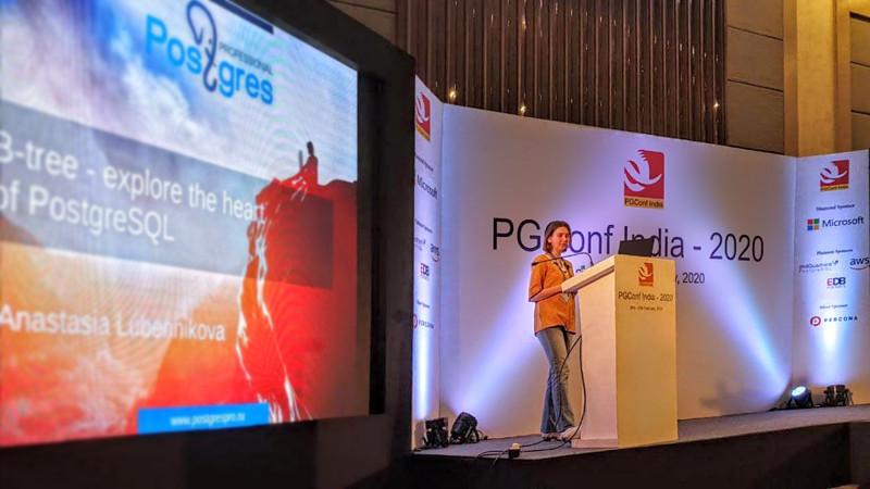 Патч Анастасии Лубенниковой принят в свободно распространяемую версию PostgreSQL