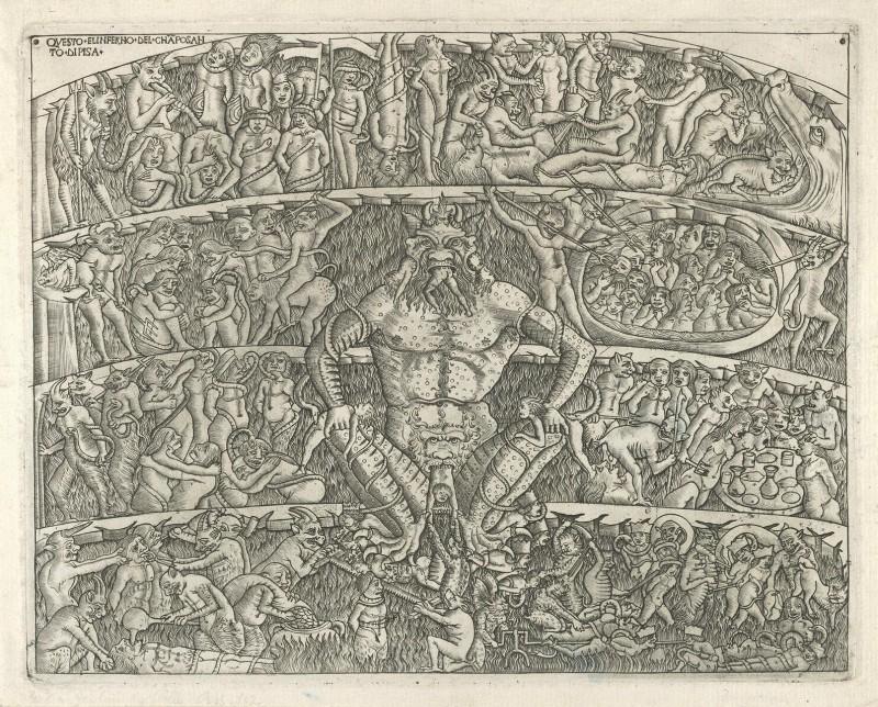 Гравюра Баччио Бальдини по рисунку Сандро Боттичелли, 1481 год. Источник: wikimedia.org