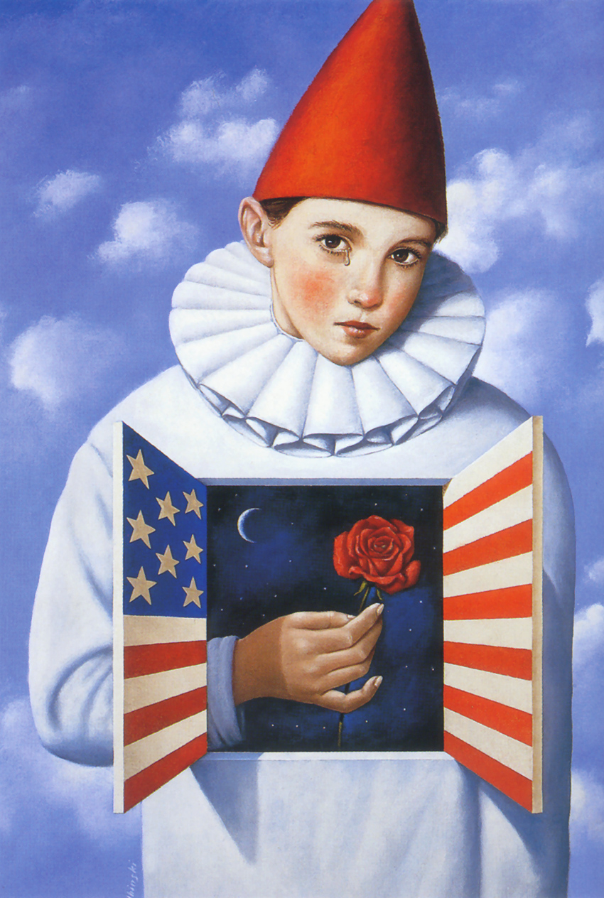 Rafal Olbinski-The Year That Was