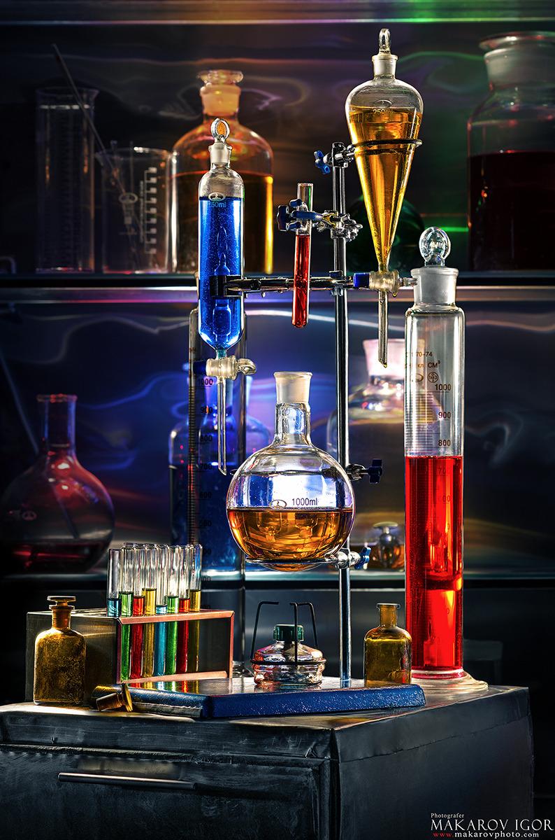 Необычные химические картинки