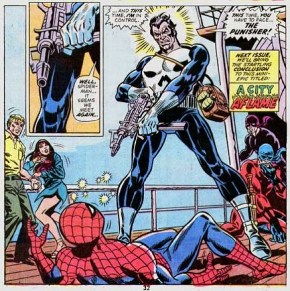 Punisher vs Spider-Man