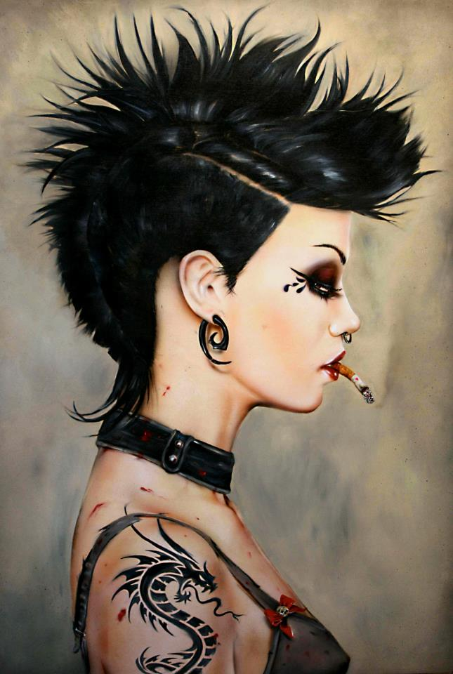 Курильщицы Брайана Вивероса