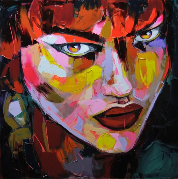 Портреты-фейерверки от Франсуазы Нилли
