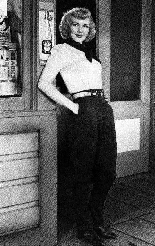 Веда Энн Борг – упрямая красавица
