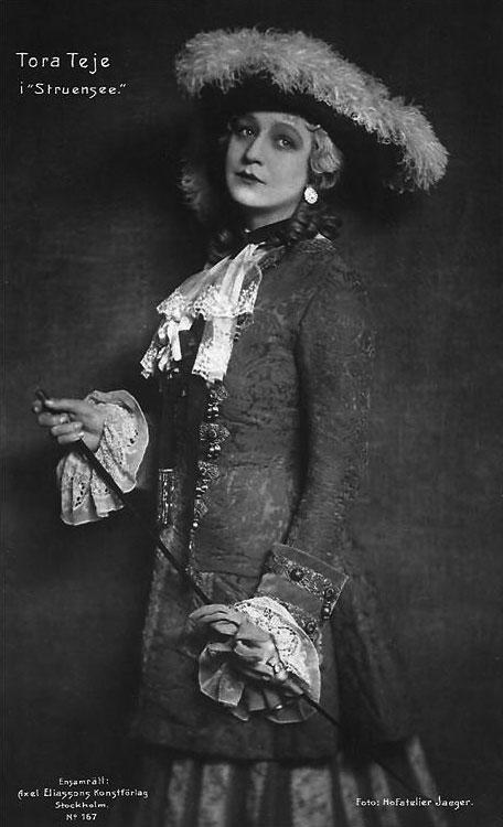 Тора Тейе – ведущая актриса Королевского драматического театра Швеции
