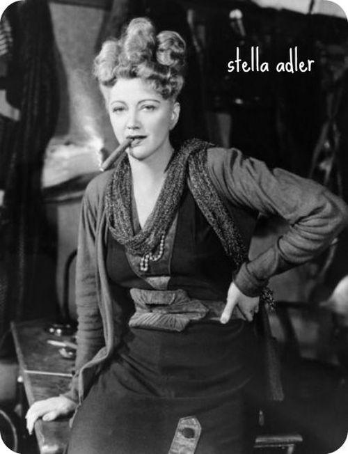 Стелла Адлер — ученица Станиславского, учительница Марлона Брандо