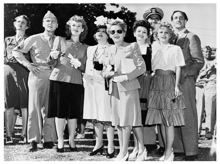 Лица из прошлого: Голливудские звёзды — волонтёры