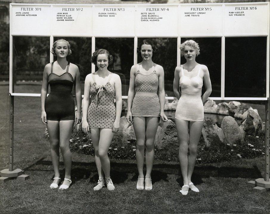 Лица из прошлого: четыре голливудские красотки