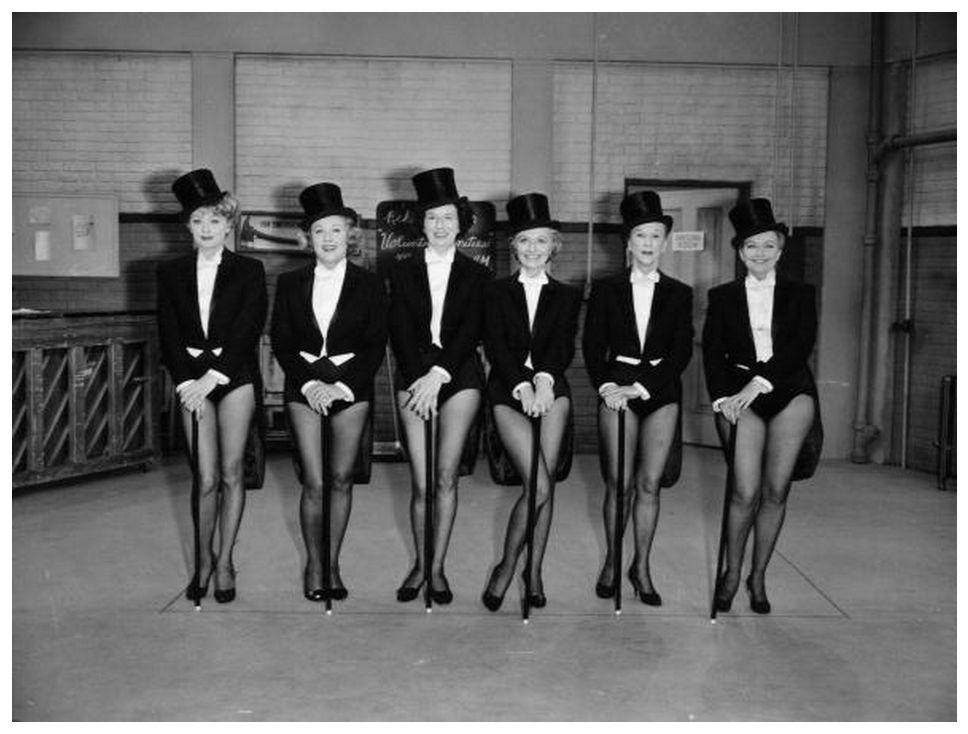 Лица из прошлого: шесть голливудских в Цилиндрах и смокингах