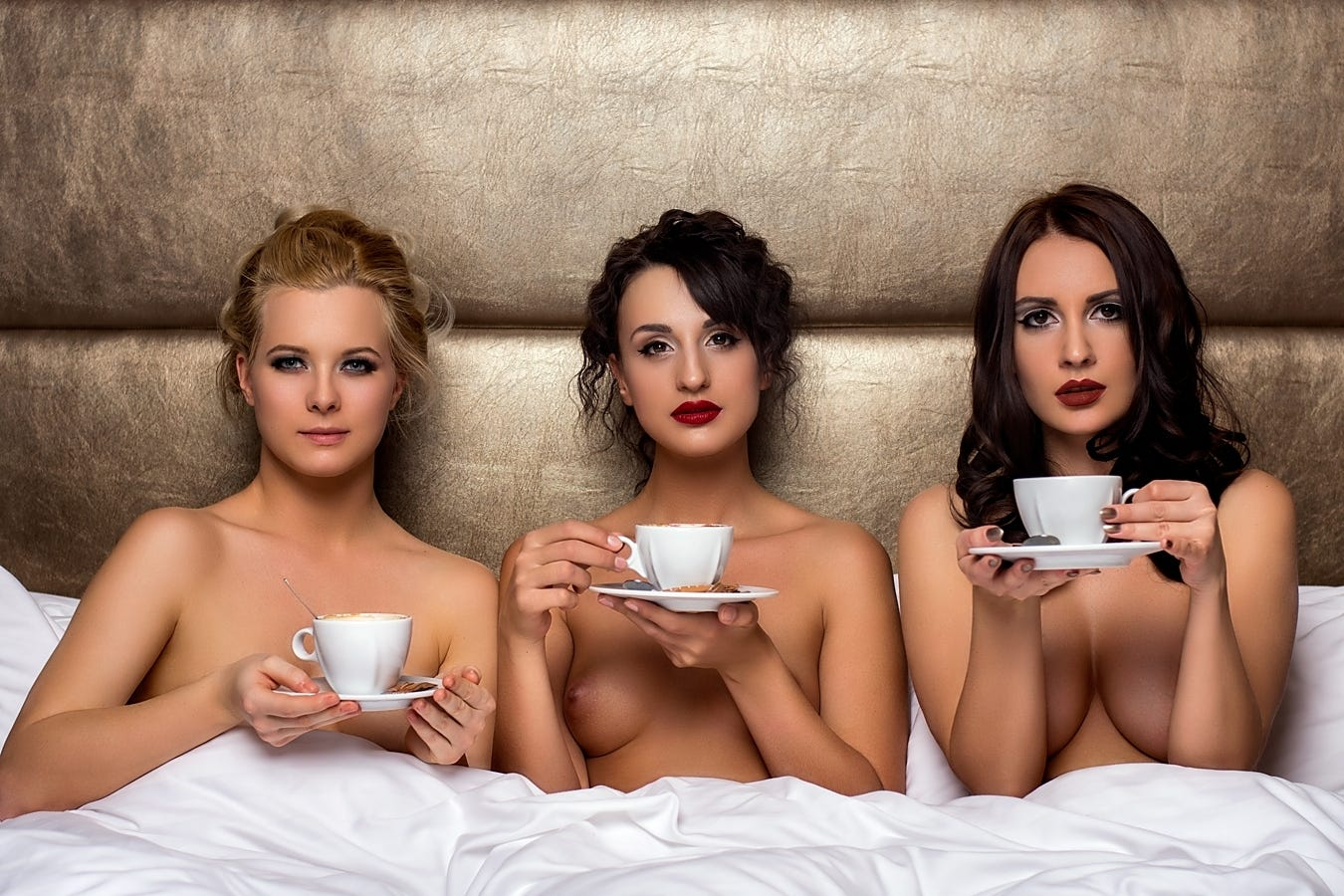 Три чашечки кофе